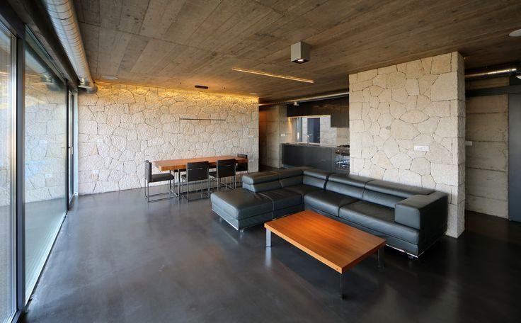 Linoleum betonlook