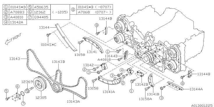 Subaru Tribeca Engine Diagram Subaru Tribeca Engine