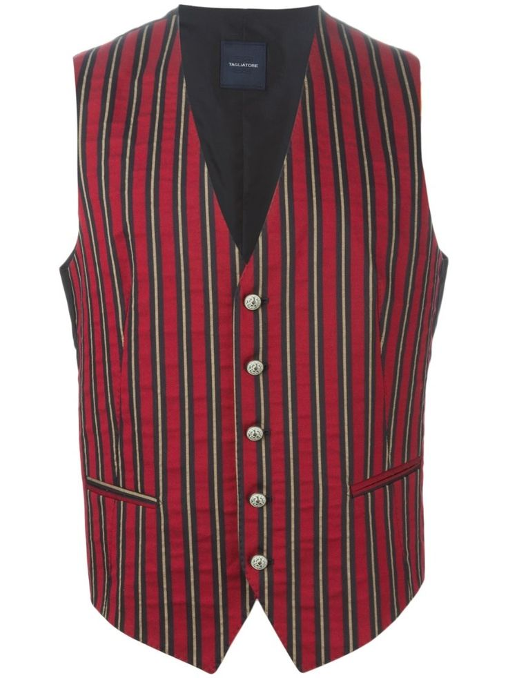 tagliatore 0205 Red and Green Striped Gilet Red #alducadaosta #business #meeting #businessmeeting #men #apparel #style #fashion #inpiration #inspo #streetstyle #tagliatore