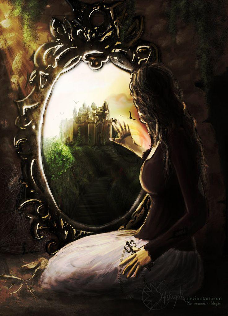 Resultado de imagem para mirror fantasy tumblr