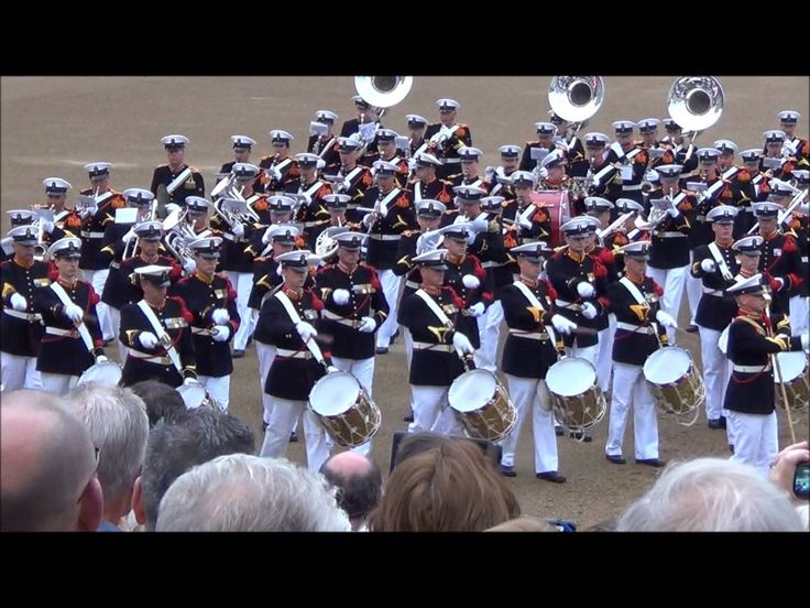 Massed Bands of H.M. Royal Marines Beating Retreat 2014 part 7