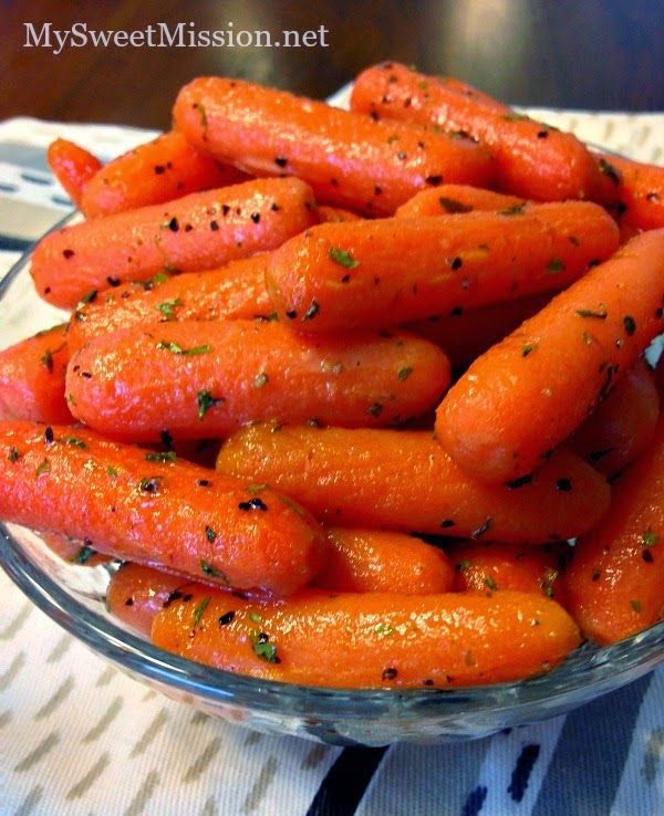 My Maple Glazed Carrots are warm and buttery with a touch of pure maple syrup. They're the perfect side dish for almost any meal!