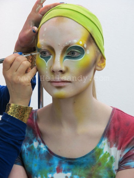 Alex Box - Illamasqua Human Fundamentalism Collection S/S 2012
