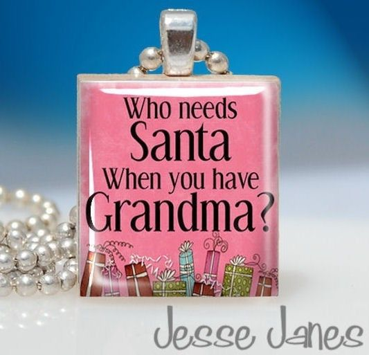 This made me smile- my grandmother loved to shower me with gifts.  I miss her.