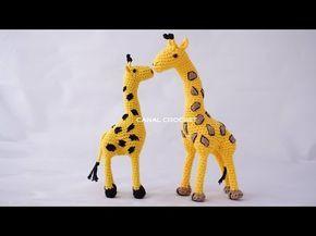 Jirafa amigurumi tutorial - YouTube