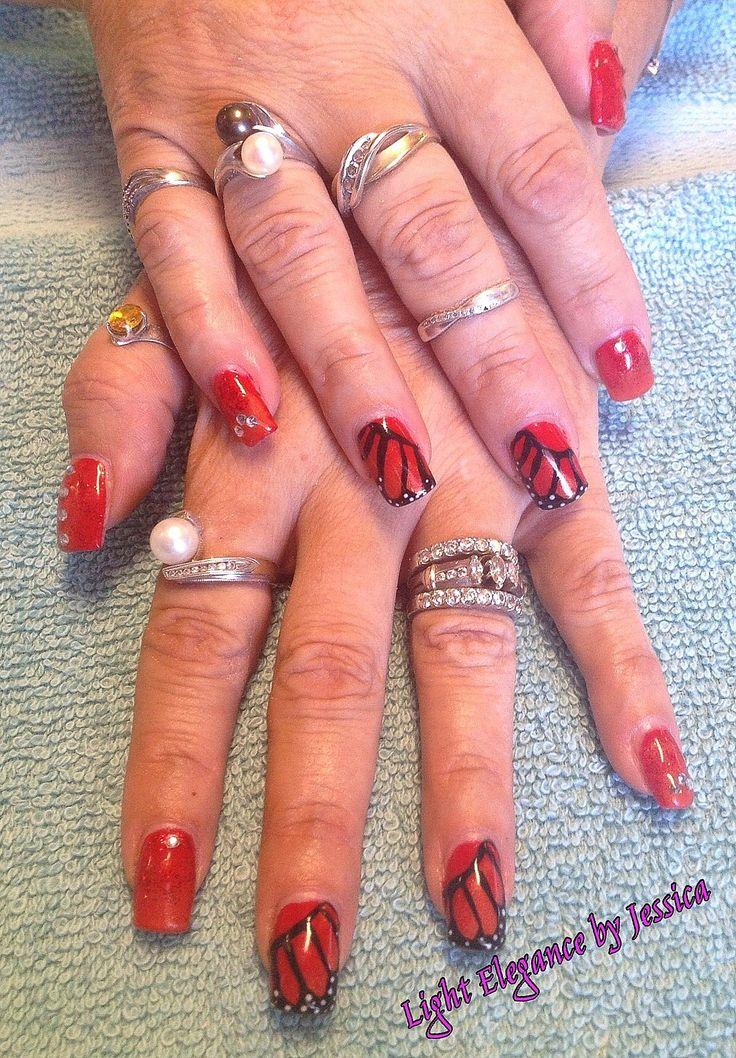 Jobs Painted fingernails hand