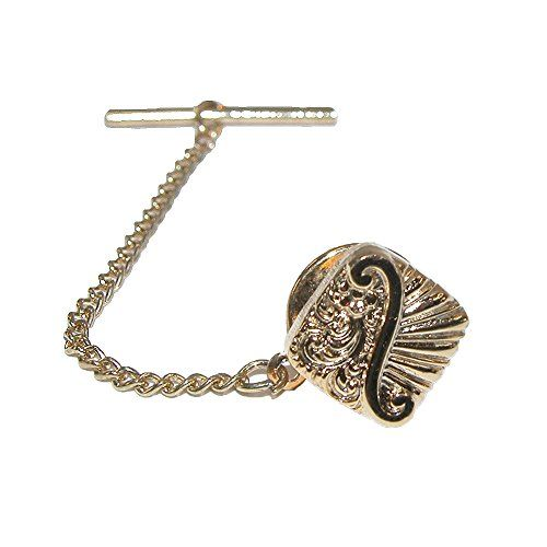 Jaymar Mens Scroll Detailed Tie Tack * You can get valentines gift ideas at the image link.