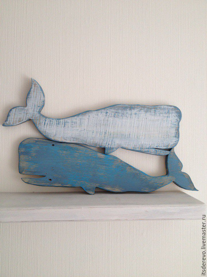 Wooden whales