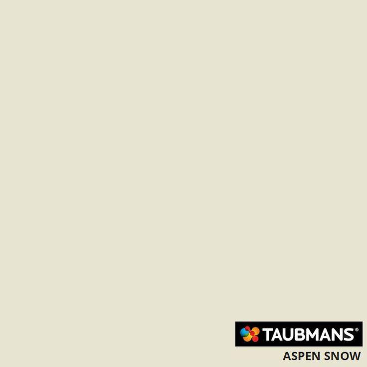 #Taubmanscolour #aspensnow