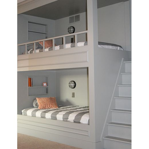 built in bunk beds hubert for our future cabin big rooms with built in bunk beds one for girls and one for boys