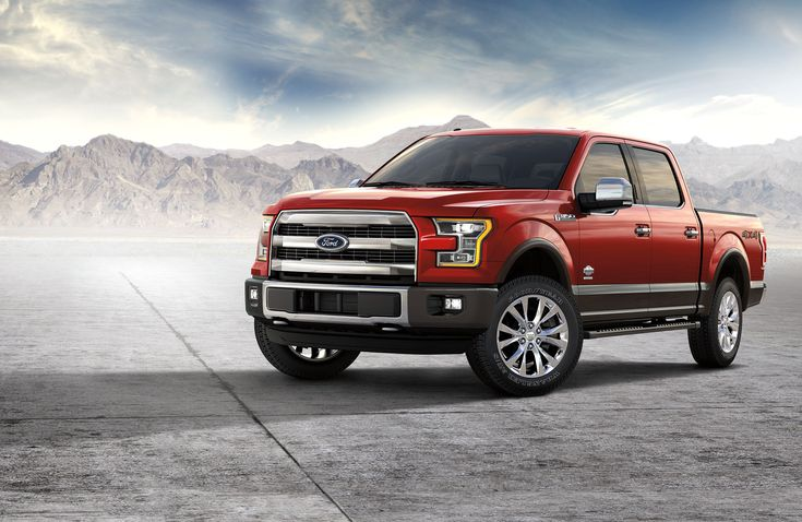 Valentine's Day may be over, but we are still falling head over heels for this red 2017 Ford F-150.