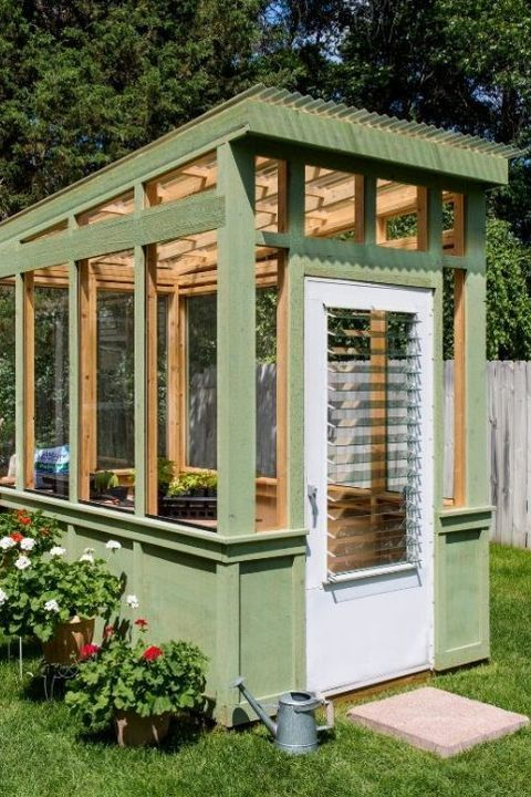 Outdoor Portable Greenhouse Kit in 2020 | Backyard, Diy ...