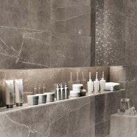 Marvel Silver Dream Gloss Glazed Ceramic Wall Tile 305x915mm