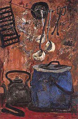 La olla azul (1959) Antonio Berni