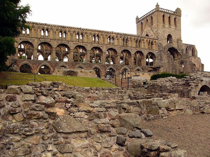 Jedburgh Abbey, Scottish Borders, founded by David I of Scotland