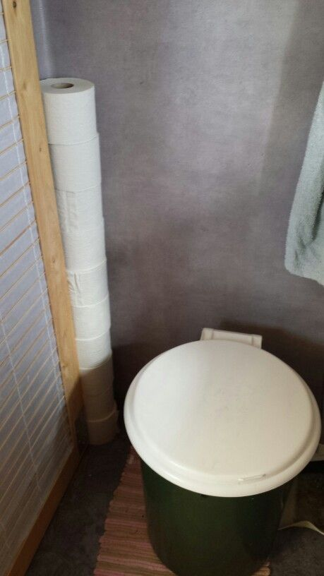 Sawdust toilet Off-grid.se