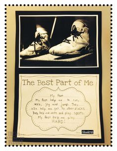Writing activity to go with the book The Best Part of Me by Wendy Ewald. Free…