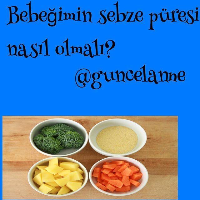 Bebekler için Sebze Püresi  Sebze püresi hazırlarken seçeceğiniz sebzeler mutlaka mevsim sebzesi olmalıdır.  İlk aşamada kolay püre haline gelebilen, yumuşak, kaygan ve alerji riski düşük sebzeler kullanılmalıdır. Havuç, patates, bal kabağı, kabak, yeşil fasulye bu sebzelere örnektir. Her seferinde tek sebze ile başlayıp daha sonra ikili-üçlü kombinasyonları deneyebilirsiniz. Bebeğinizin yiyeceklerini hazırlarken elektrikli çırpıcı kullanmayın.