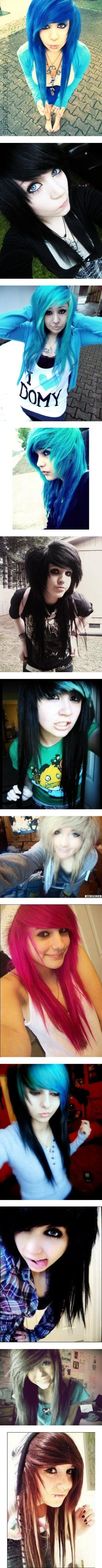 """Amazing hair! ! ♥♥♥"" by arsenic-catnip ❤ liked on Polyvore"
