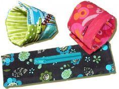 kleine HANDtasche, Handgelenktasche I Kreativ-Ebook Schnittmuster, Anleitungen zum Nähen