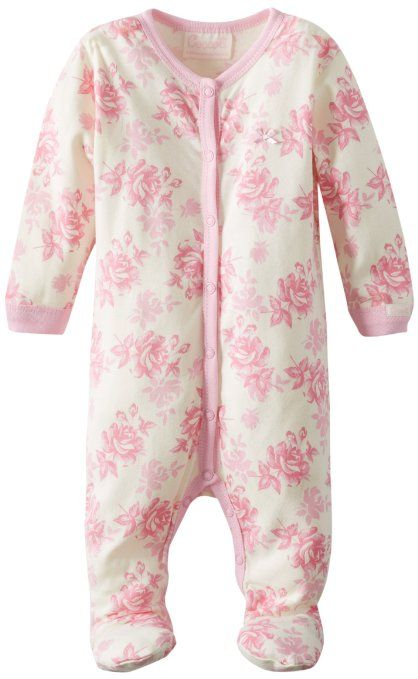 Amazon.com: Coccoli Baby-Girls Newborn Baby Blues Girl's Footie: Clothing