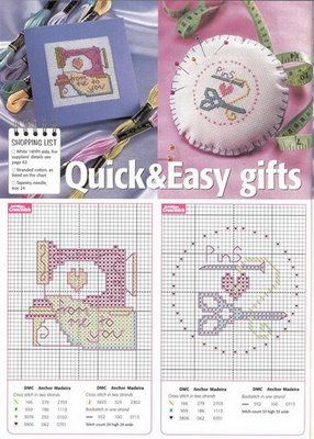 Quick and Easy Gifts