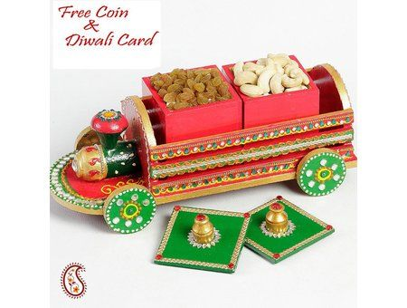 Very Unique Handcrafted multi utility Dry fruit Box - #Diwali #DiwaliGifts