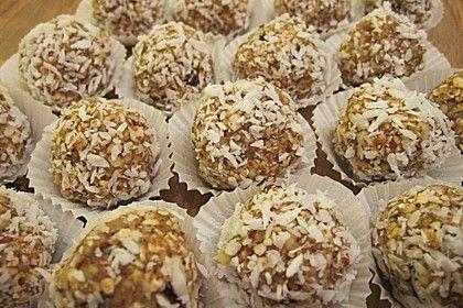 Müslikugeln, Energiebällchen, ein beliebtes Rezept aus der Kategorie Fingerfood. Bewertungen: 19. Durchschnitt: Ø 4,4.