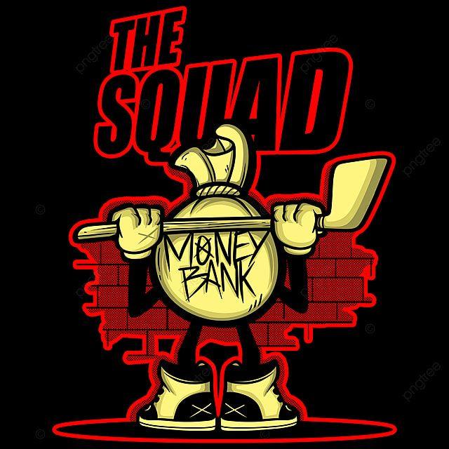 فرقة الكرتون تيشرت تصميم تيشرت تصميم الملابس Png وملف Psd للتحميل مجانا Cartoon Squad