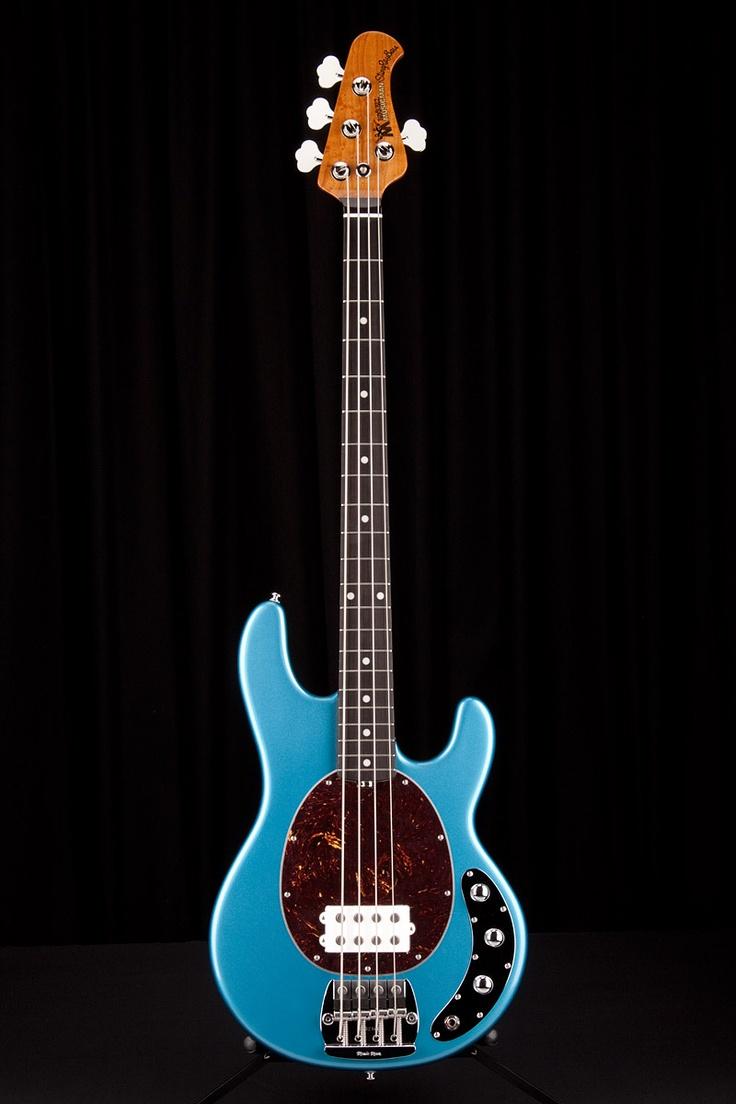 music man classic stingray 4 string w roasted maple neck lake tahoe blue bassmania. Black Bedroom Furniture Sets. Home Design Ideas
