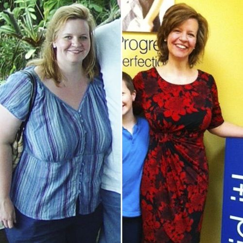 Weight Loss Wednesday: Jennifer Lost 107 Pounds By Following a Strict Portion Controlled Diet!