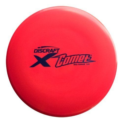 Discraft Elite X Comet by Discraft. $9.49. Best seller! The Surge is perfect for long bombs, yet still highly controllable for virtually all skill levels. Everyone will benefit from the extra glide the Surge delivers in calm to moderate wind conditions. Distance driver of choice for 2007 World Champion Nate Doss.
