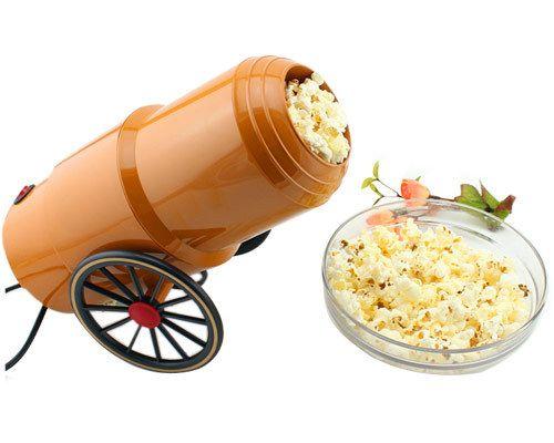 Popcorn cannon