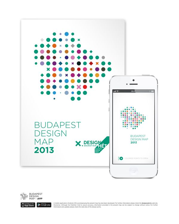 Budapest Design Map on Behance