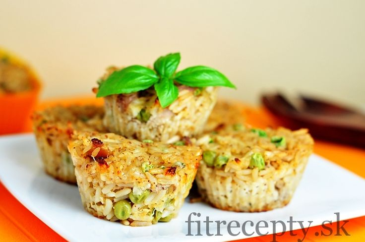 Rýžovo-kuřecí muffiny