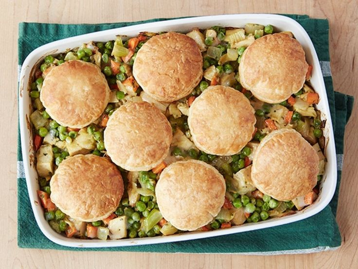Curry Chicken Pot Pie recipe from Alton Brown via Food Network