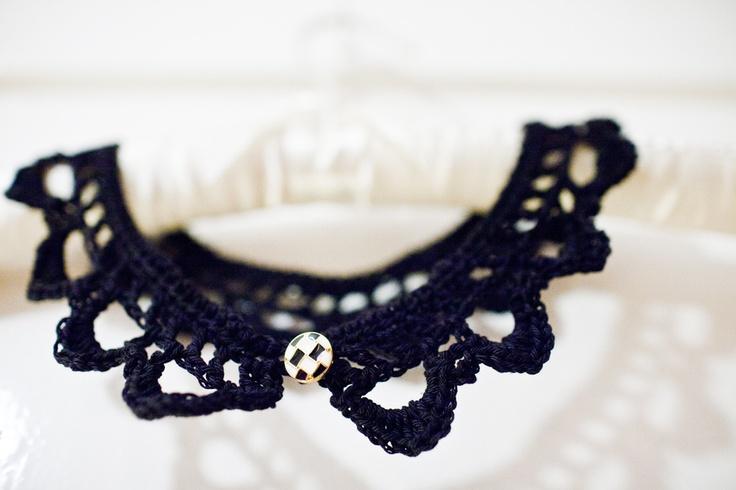 crochet collar #crochet, #collar