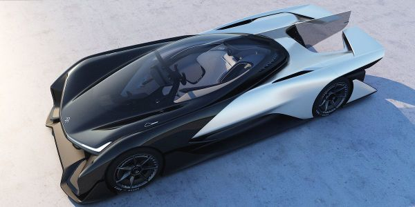 #CES2016 - Faraday Future FFZERO1 - Electric Car