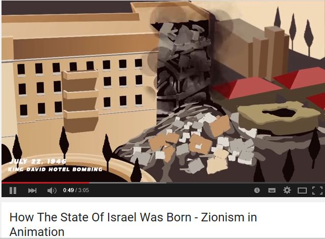 Begin Center Diary: The King David Hotel Bombing - in Animation