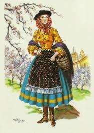 Resultado de imagem para O traje tipico da nazaré
