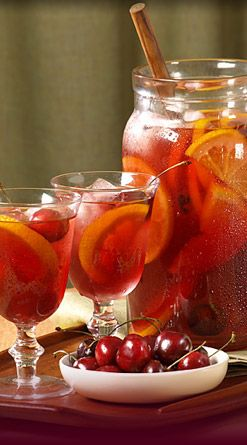 (Can anyone tell I haven't had a cocktail since Ash Wednesday?) Sangria........made