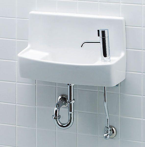 壁付け 手洗い器 セット ハンドル水栓 壁給水壁排水 Inax イナックス Lixilリクシル トイレ用 ハイパーキラミック 数量限定 新作登場 トイレ インテリア 水栓 手洗い器