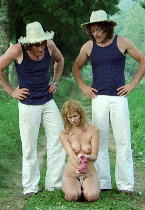 Miou Miou, Gérard Depardieu et Patrick Dewaere dans Les valseuses (Bertrand Blier, 1974)