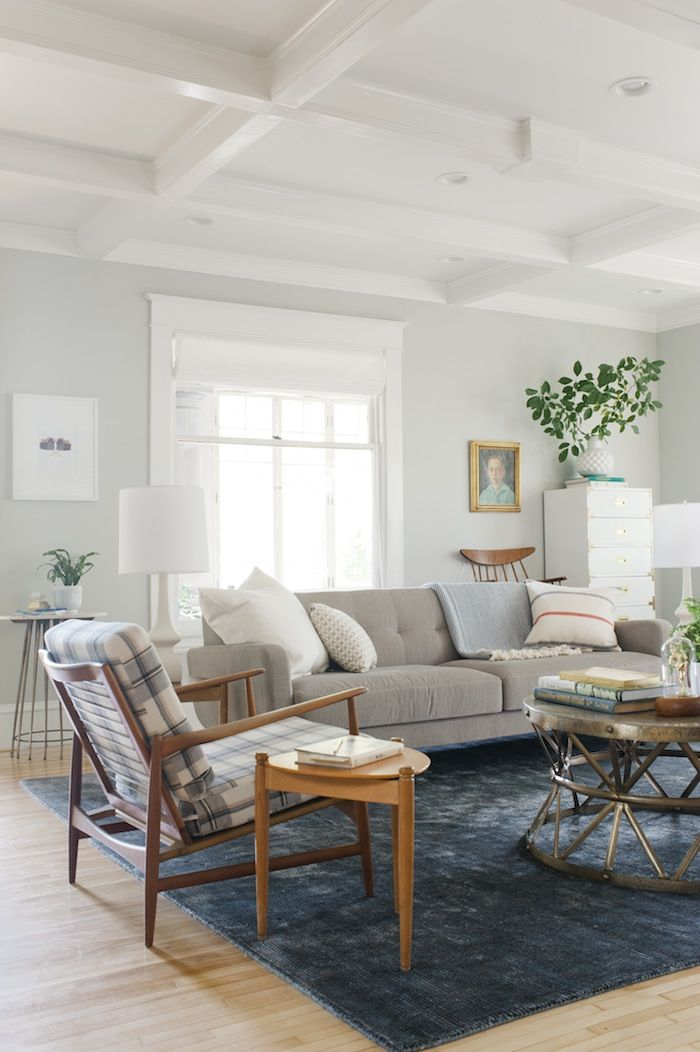 inviting family room by @Emily Henderson