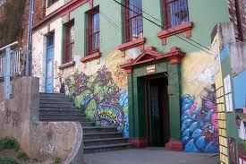 Otro mural Valpo