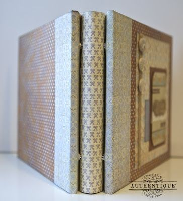 Create Your Own 8x8 Scrapbook Album, tutorial that shows you how to create this binding. great instructions