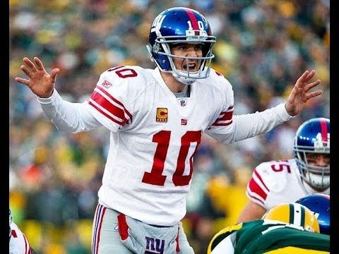 Interview With Eli Manning Giants 2013 New York Giants