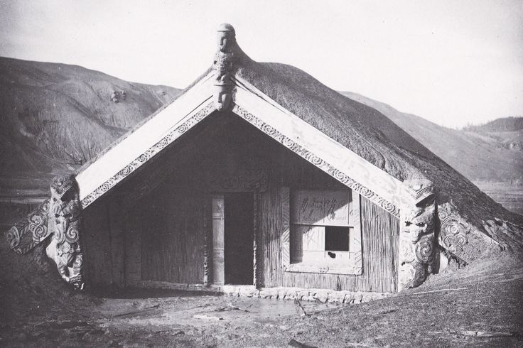 The Tarawera eruption of 1886 was thought to have been caused by a demon named Tama-o-hoi, who long before had been imprisoned in the mountain by Ngatoro-i-rangi. The eruption devastated a large area, rendering it uninhabitable for many years. In the village of Te Wairoa, the meeting house Hinemihi was one of the few buildings that survived that night. Many people took shelter within it.