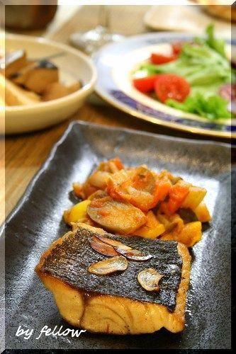◆メジナ料理一覧|fellowの美味しい物大好き fellowの美味しい物大好き-メジナポワレのトマト