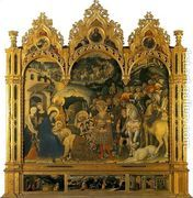 The Adoration of the Magi 1422  by Gentile Da Fabriano